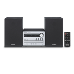 Panasonic SC-PM250BEG Home audio micro system Black,Silver