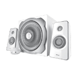 Trust Tytan 2.1 2.1channels 60W White speaker set