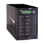 Kanguru KCLONE-5HD-TWR media duplicator HDD duplicator 5 copies Black