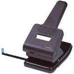 Q-CONNECT KF01237 hole punch 63 sheets Black