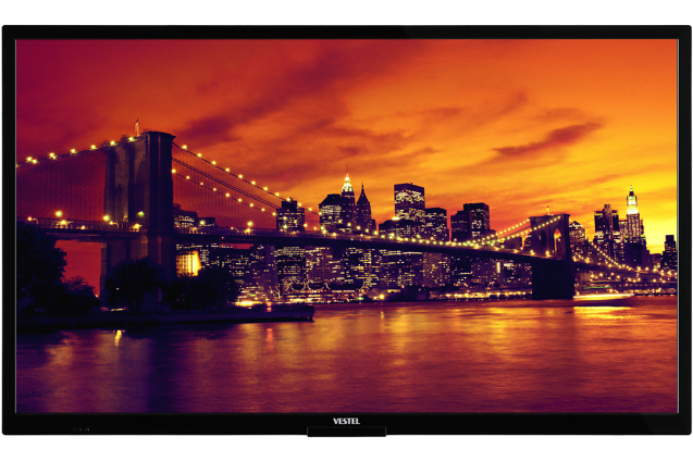 """Vestel ED32V78/D signage display 81.3 cm (32"""") LED Full HD Digital signage flat panel Black"""