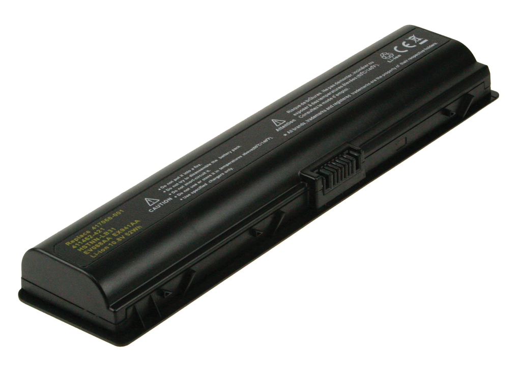 2-Power 10.8v, 6 cell, 50Wh Laptop Battery - replaces 417066-001
