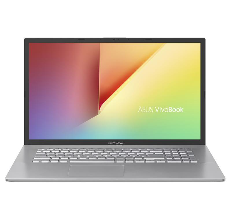 "ASUS VivoBook 17 X712FA Zilver Notebook 43,9 cm (17.3"") 1920 x 1080 Pixels Intel® 8ste generatie Core™ i3 8 GB DDR4-SDRAM 1256 GB HDD+SSD Windows 10 Home"