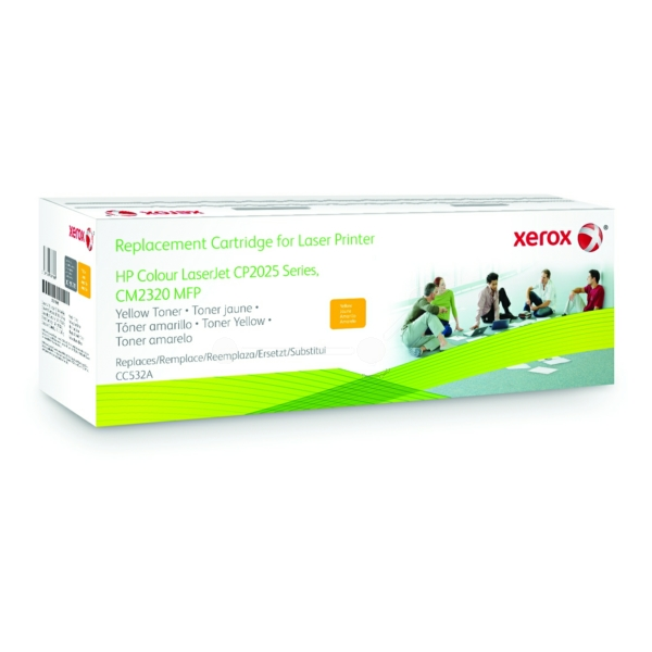 Xerox 003R99793 compatible Toner yellow, 2.8K pages @ 5% coverage (replaces HP 304A)