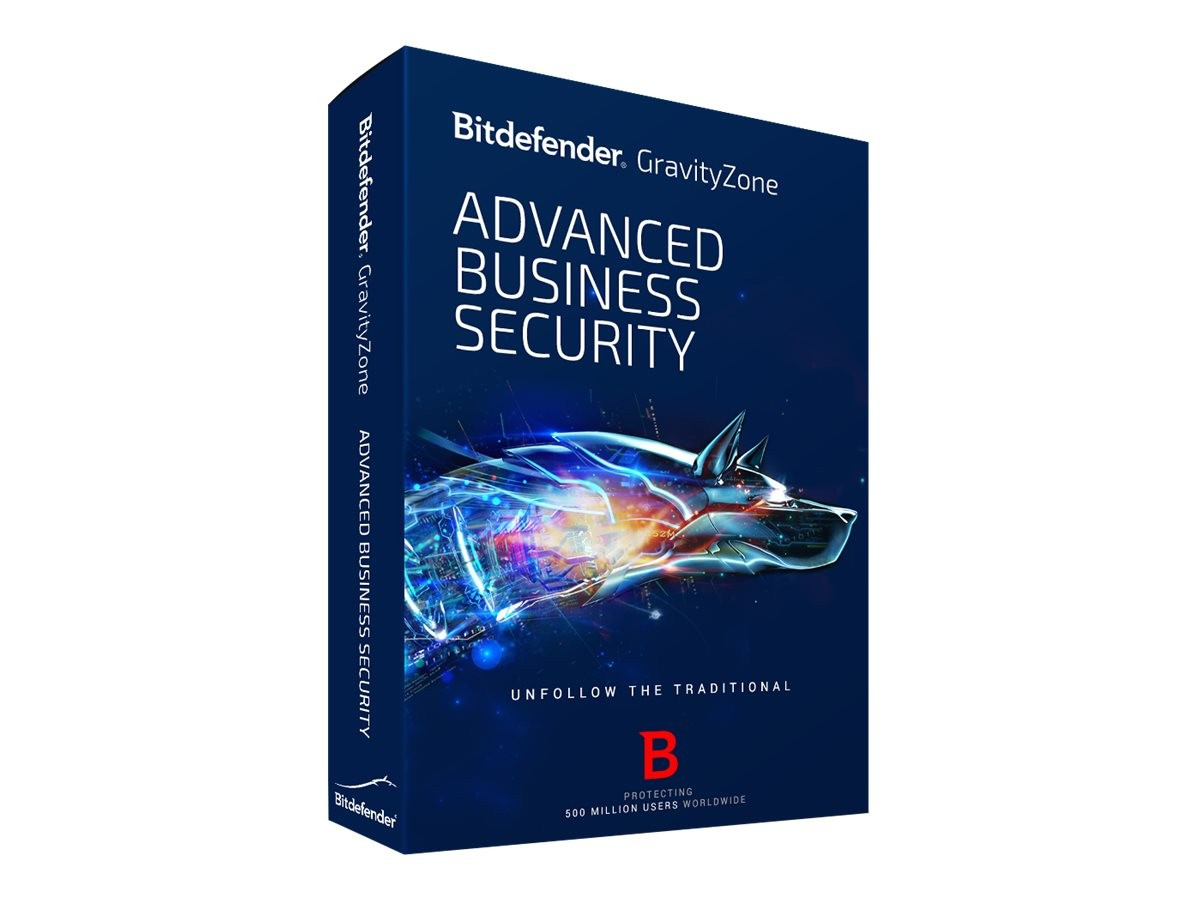 Bitdefender GravityZone Advanced Business Security, 25-49u, 1Y Education (EDU) license 25 - 49license(s) 1year(s)