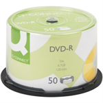 Q-CONNECT DVD-R CAKEBOX PK50