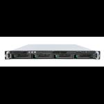 Intel R1304JP4OC server barebone Intel® C602 LGA 2011 (Socket R) 1U Black,Silver