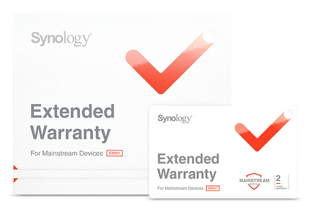 Synology EW202 extensión de la garantía