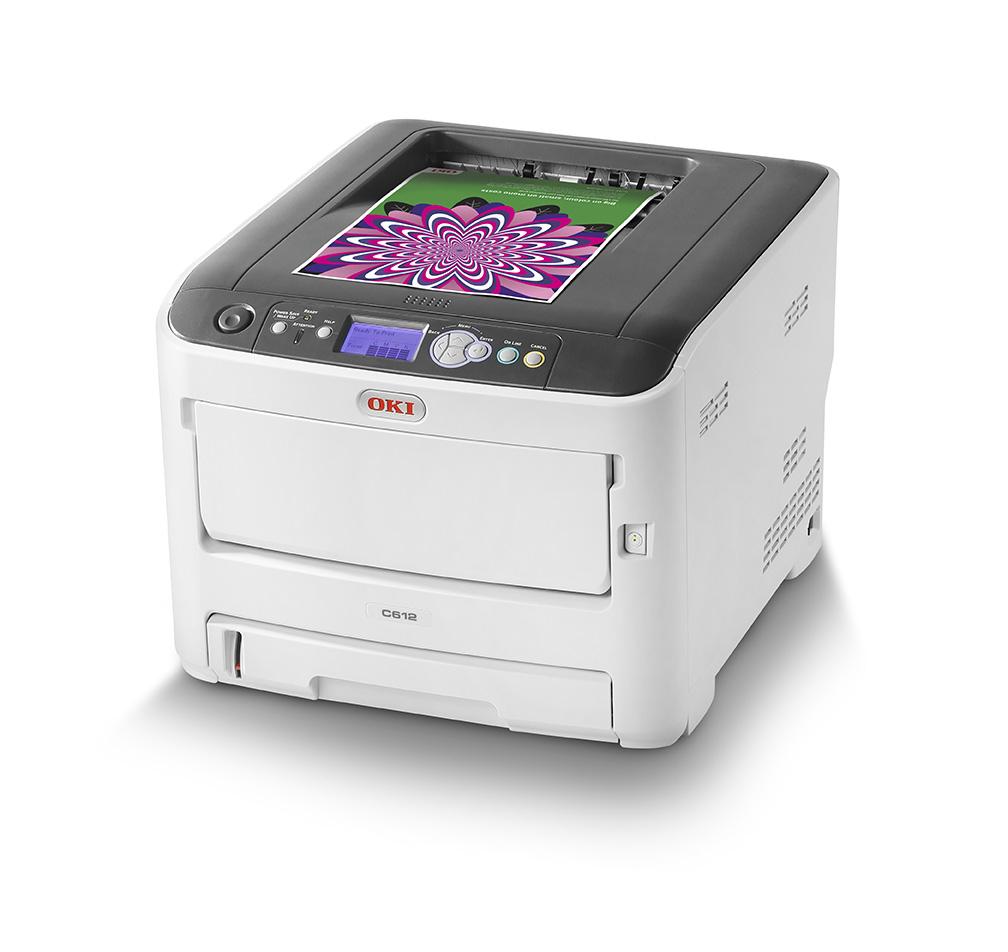 C612dn - Color Printe - LED - USB / Ethernet / Wi-Fi