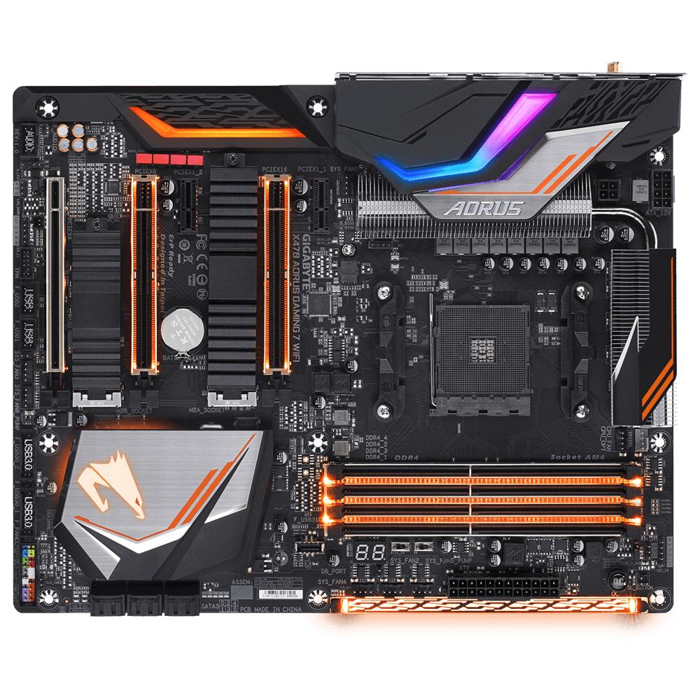 Gigabyte X470 AORUS Gaming 7 WIFI motherboard Socket AM4 ATX AMD X470
