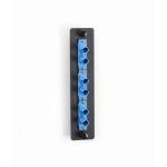 Black Box JPM450C fiber optic adapter ST 1 pc(s) Black, Blue