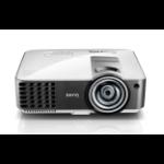 Benq MX819ST Desktop projector 3000ANSI lumens DLP XGA (1024x768) 3D Black,Silver data projector