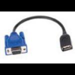 Intermec Single USB Cable USB-kabel USB A Zwart