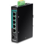 Trendnet TI-PG541i Managed L2+ Gigabit Ethernet (10/100/1000) Black Power over Ethernet (PoE)