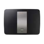Linksys EA6400 Dual-band (2.4 GHz / 5 GHz) Gigabit Ethernet Black wireless router