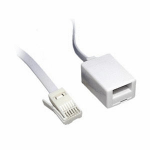 Cables Direct 88BT-010 telephone cable 10 m White