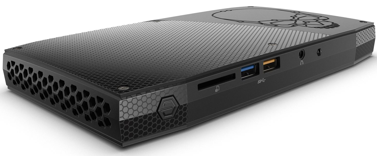 Intel NUC6i7KYK BGA 1440 2.6GHz i7-6770HQ UCFF Black