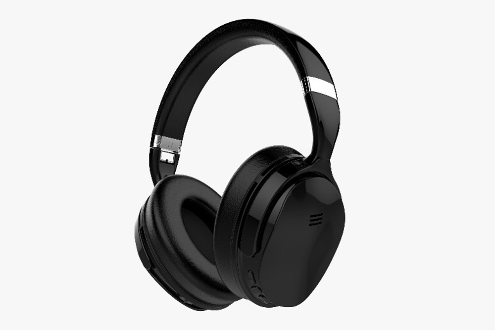 VOLKANO VK-2003-BK Silenco Noise Cancelling Wireless Over Ear Headphones