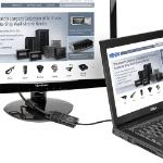Tripp Lite P134-06N-VGA-V2 cable interface/gender adapter DisplayPort VGA (HD15) Black