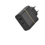 OtterBox EU Wall Charger 30W - USB-C 18W + USB-A 12W USB-PD, black