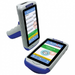 Datalogic Joya Touch Plus Kit, 2D, BT (BLE), Wi-Fi, NFC, Gun, kit (USB), blue, grey, WEC 7