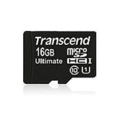 Transcend 16GB microSDHC Class 10 UHS-I (Ultimate) 16GB MicroSDHC MLC Class 10 memory card