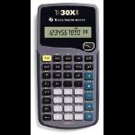 Texas Instruments TI-30XA calculator Pocket Scientific Grey