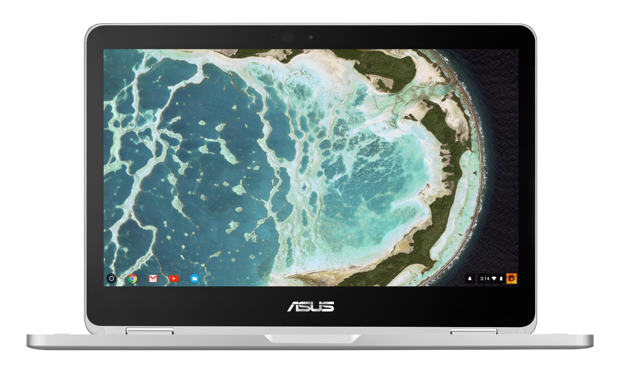 "ASUS Chromebook Flip C302CA-GU003 Grijs 31,8 cm (12.5"") 1920 x 1080 Pixels Touchscreen Intel® Core™ M m3-6Y30 8 GB 64 GB eMMC"