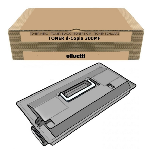 Olivetti B0567 Toner black, 34K pages @ 5% coverage
