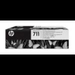 HP C1Q10A (711) Printhead, 12ml, Pack qty 4
