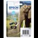 Epson Elephant Cartucho 24XL cian claro (etiqueta RF)