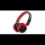 Energy Sistem DJ2 Negro, Rojo Circumaural Diadema