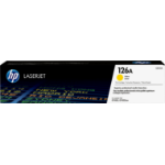HP 126A tonercartridge 1 stuk(s) Origineel Geel