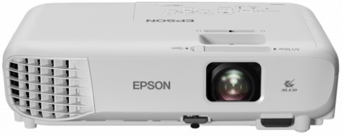 Epson EB-W05 Desktop projector 3300ANSI lumens 3LCD WXGA (1280x800) White data projector
