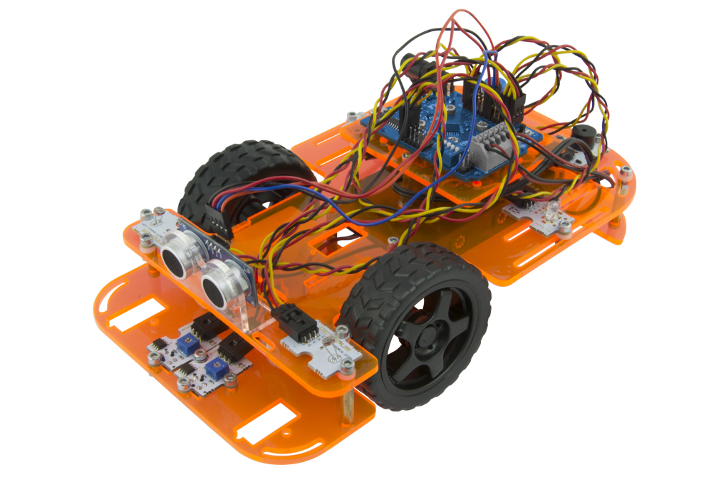ebotics Programmable Robotic Car Kit Inc Contoller Board Arduino Compatible