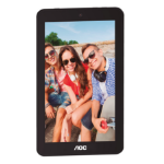 AOC TABLET AOC 7 / A726-B / IPS LCD CAPACITIVA / COLOR AZUL / ANDROID 6.0.1 / INTEL QUAD CORE 1.3 GHZ / dir