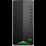 HP Pavilion Gaming TG01-1003na DDR4-SDRAM i5-10400F Mini Tower 10th gen Intel® Core™ i5 8 GB 1256 GB HDD+SSD Windows 10 Home PC Black