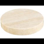 Sandberg Marble Stone Charger Beige