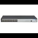 Hewlett Packard Enterprise OfficeConnect 1620 24G Managed L2 Gigabit Ethernet (10/100/1000) 1U Grey