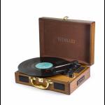 Technaxx TX-101 Belt-drive audio turntable Brown