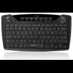 iogear GKB635W RF Wireless QWERTY English Black keyboard