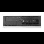 HP Compaq Pro 6200 SFF DDR3-SDRAM i5-2400 2nd gen Intel® Core™ i5 4 GB 500 GB HDD Windows 7 Professional PC Black