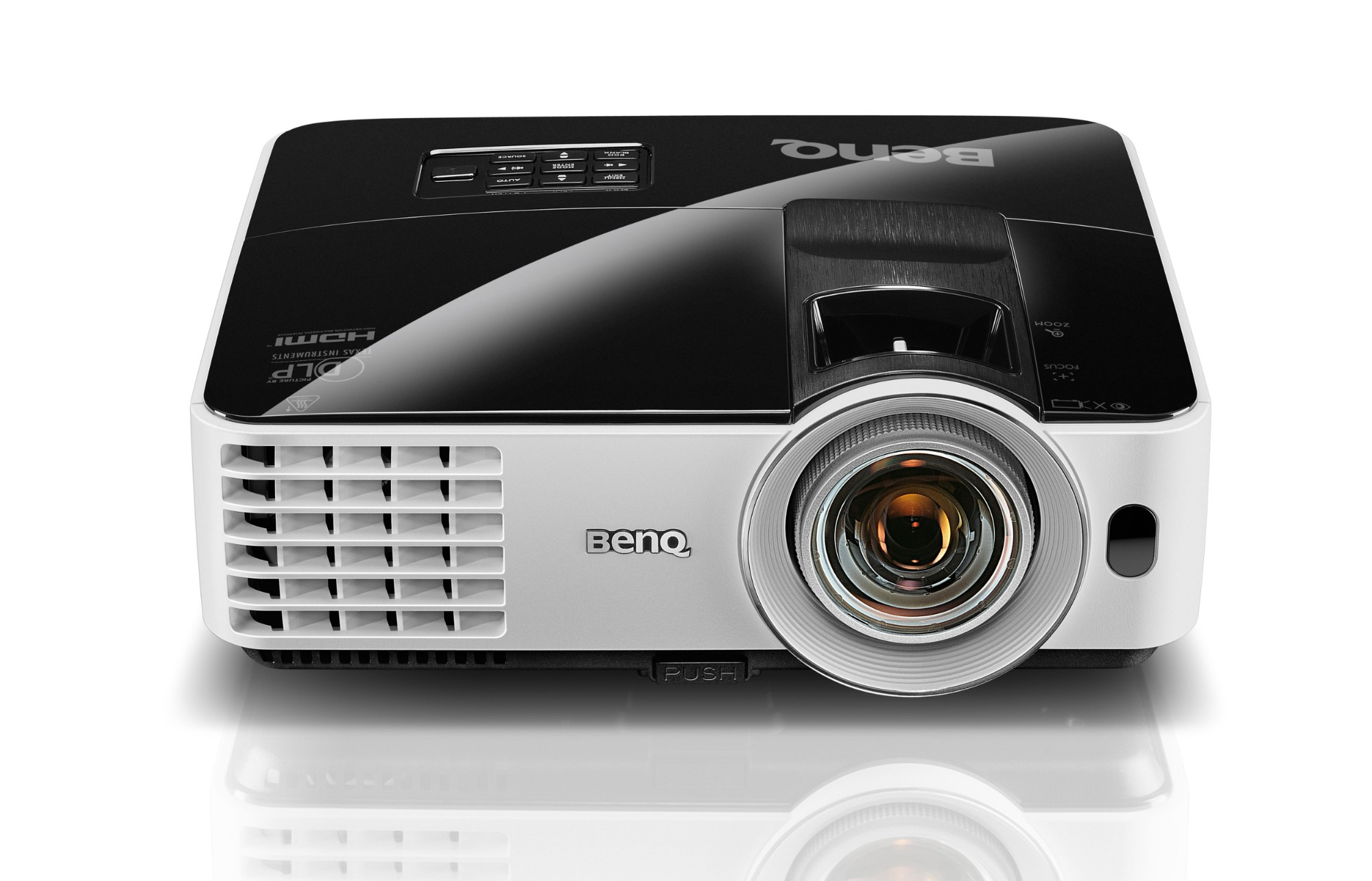 Benq MX631ST data projector 3200 ANSI lumens DLP XGA (1024x768) 3D Desktop projector Black,White