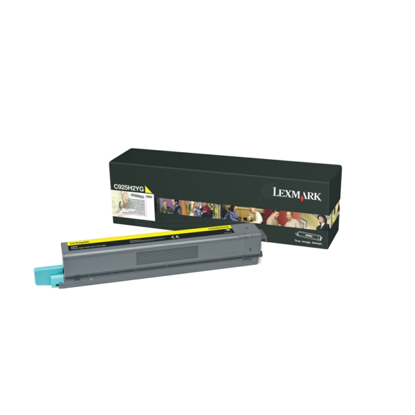 Lexmark C925H2YG Toner yellow, 7.5K pages
