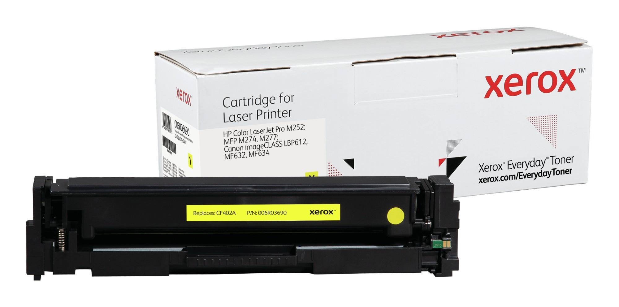 Xerox Tóner de Rendimiento estándar Amarillo Everyday, HP CF402A/ CRG-045Y equivalente de , 1400 páginas