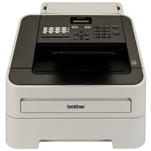 Brother FAX-2840 fax machine Laser 33.6 Kbit/s A4 Black, Grey
