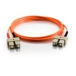 Patch Cable Fiber Optic Mmf Duplex Sc / Sc 50/125 2m