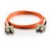 C2G 2m SC/SC LSZH Duplex 50/125 Multimode Fibre Patch Cable