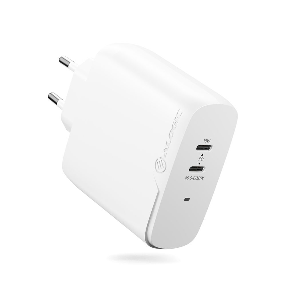 ALOGIC WCG2X63-EU mobile device charger White Indoor