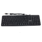 Compoint CP-K8014 Wired Keyboard, USB, 108 Keys, Black, Retail